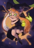 Squid Witch by vSock