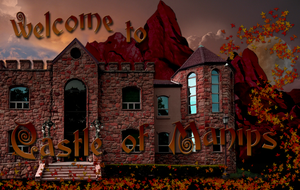 Castle of Manips Welcome Wallpaper by WDWParksGal-Stock