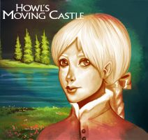 Howls Moving Castle by spshlfx