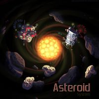 Asteroid System by orange-magik
