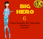 Older!Kaiya Hayashi (Big Hero 6/SWTOR Crossover) by MrsAllenWalker500
