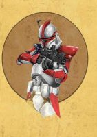 star wars ARC trooper by goblin4hire