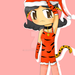 Merry Christmas, Tigress! by TheMidnightPuppeteer