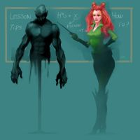 Teacher Poison ivy by zhuzhu