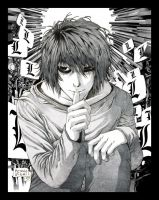 Death Note -L is for Lawliet- by Lady-Valiant