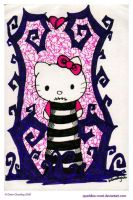Hello Kitty Nightmare Wyurm by Quaddles-Roost