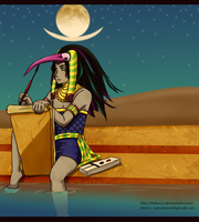 EGYPY:Thot by Tlaloca