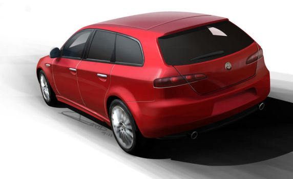 Alfa Wagon by Christopher328is