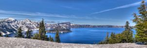 Crater Lake I by kdiff3