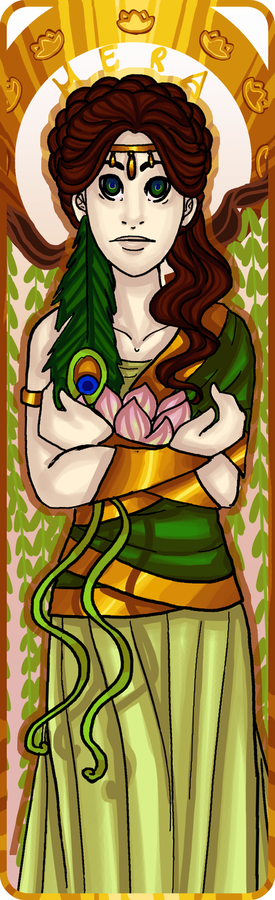 Bookmark Commission: Hera