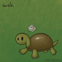 Turtle by stripedkitty