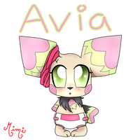 Avia the Seedling by MimiTheFox