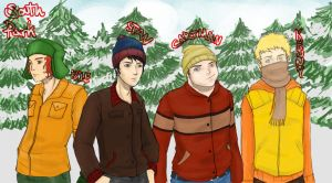 South Park - Fellas in Colour by jmaomao