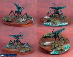 Starship Troopers Arachnid Blue by Atropos907
