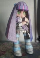 Papercraft Anarchy Stocking by kitttymeow