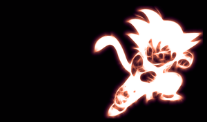 Kid Goku Wallpaper by PorkyMeansBusiness