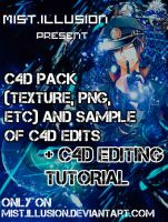 C4D Pack with TUTORIAL by MistIllusion