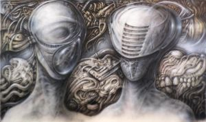 Acquiring the Graft (an Homage to H R Giger) by solark