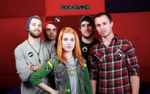Paramore Rock Band I by Pabloan