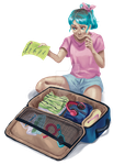 Traveling by Lilybyte