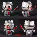 Hello Kitty 3 Friday the 13th by Undead-Art