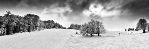 Winter downhill no.2 by BandasPhoto