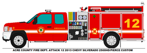 Acre County Fire Dept. Attack 12 by MisterPSYCHOPATH3001