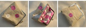 Flower Power - Coin Purse by MasonBee