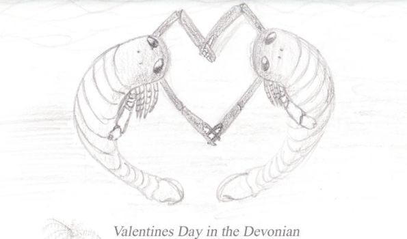 Valentines Day in the Devonian by Eoscorpiidae