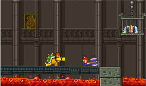 mario vs bowser by supermariofan54321