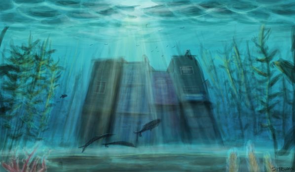 Underwater lost city by shevans