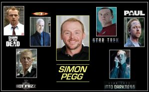 Simon Pegg by DoctorWhoOne