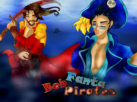 Fan art : Wall : Fanta Bob Pirates by juliabakura