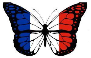 France Butterfly by CreazioniArtEC