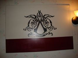 Assassins Creed 2 logo board by 4825467