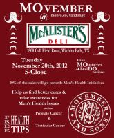 MOvember at McAlister's by SublimeBudd