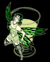 The Green Fairy by RachelHWhite