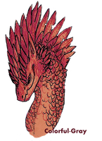 _Feathers and Spikes by Colorful-Gray