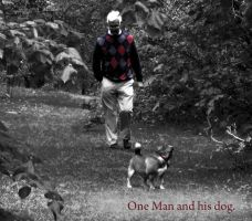 One man and his dog. by BELFASTBAP