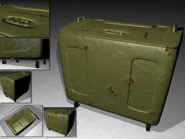 Lixeira - Trash-container by zeca3D
