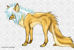Scene wolf adoptable - open by pyrrula