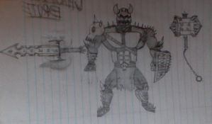 Chatoic Brute Armor ( and weapons) by HorrorshowMania