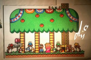 Super Mario World Perler by Awi87