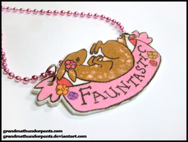 Fauntastic Necklace by GrandmaThunderpants
