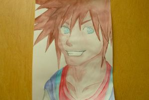 Kingdom Hearts: Sora by YouJustGotAnimated
