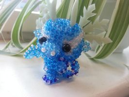 ice dragon baby by Karo1987