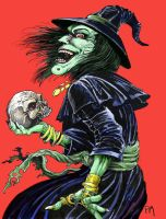 Crazy Witch colored by PM-Graphix