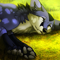 To let myself go. by BlueHunter