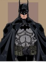 Batman Color by Gaitar