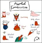 Fox's Assorted Eccentricities  by shioneh